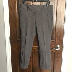The Limited exact stretch grey pant